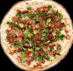 Pizza Americana, Verdeo y Panceta