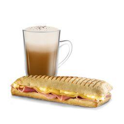 Tostado de Jamón y Queso Big & Café