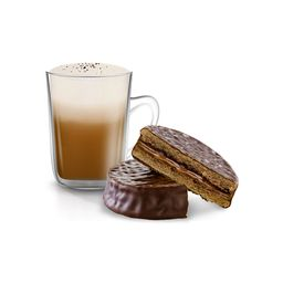 Alfajor Cachafaz Chocolate & Café