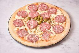 Pizza Calabresa para Hornear