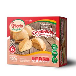 Empanadas de Jamón & Queso x 6
