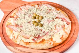 Pizza de Panceta & Provoleta