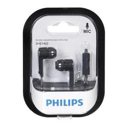 Phillips Auriculares In-Ear (She1405Bk10) Negro