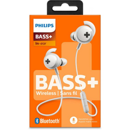 Phillips Auricular In-Ear Bluetooth Línea Bass+ (Shb4305Wt/00)