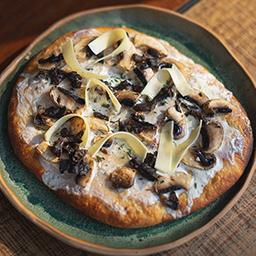 Pizza de Crema & Hongos