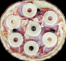 Pizza Mozzarella, Jamón y Ananá