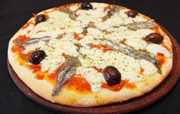 Porción de Pizza de Anchoas