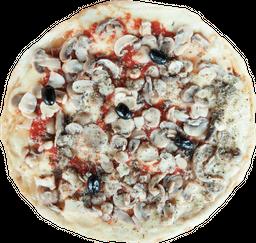 Pizza Mozzarella y Champignones Portobello