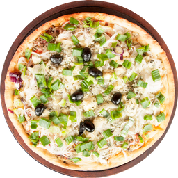 Pizza Americana, Verdeo y Roquefort