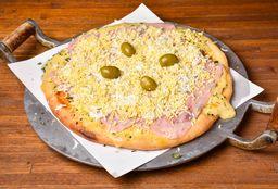 Pizza Jamón & Huevo