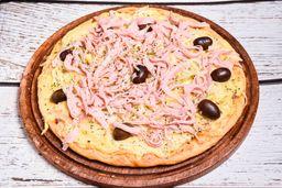 Pizza Fugazza & Jamón