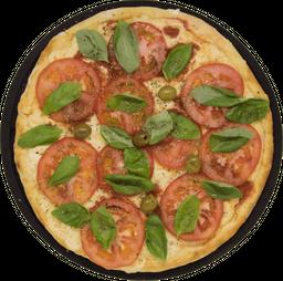 Pizza Napolitana con Albahaca y Ajo