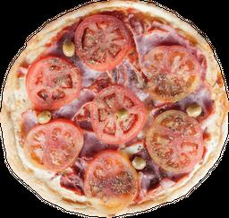 Pizza Napolitana con Jamón Cocido