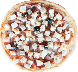 Mozzarella, Jamón y Palmitos