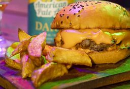 Cheeseburger & Papas