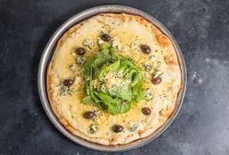 Pizza de Rúcula & 4 Quesos