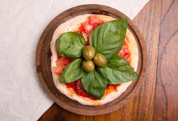Pizzetinha Canchera con Albahaca