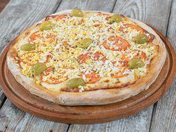 Pizza de Jamón & Huevo