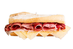 Combo Sándwich de Crudo & Bebida
