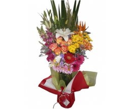 The Flower Company Jarrón Con Flores Variadas XXL