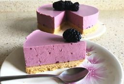 Cheesecake de Mora