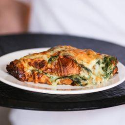 Croissant de Espinaca