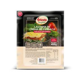 Lasagna de Crema de Espinacas