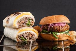 Burrito Stroke & Burger Falafel