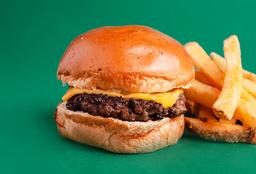 Combo Rappi: Cheeseburger Jr+papas+coca