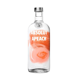 Vodka Absolut Apeach Suecia 750Ml