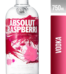 Vodka Absolut Raspberri Suecia 750Ml