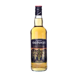 Whisky 100 Pipers 750 mL