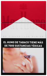 Caja De Cigarrillos Marlboro Red Box 20