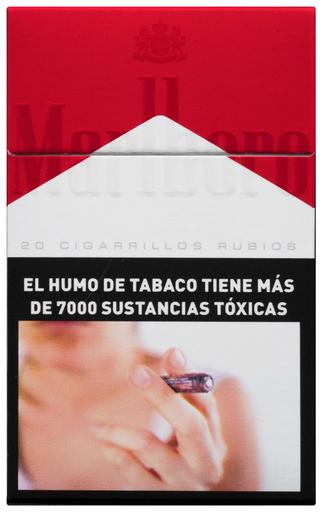 Caja De Cigarrillos Marlboro Red Box 20