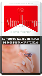Caja De Cigarrillos Marlboro Red Core Flavor Box 20
