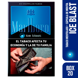 Marlboro Cigarrillos Ice Blast Box 20
