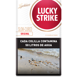 Cigarrillos Lucky Strike Red Box 20
