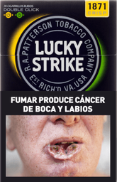 Cigarrillos Lucky Strike Box Double Click
