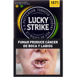 Cigarrillos Lucky Strike Double Capsule Twins Box 20