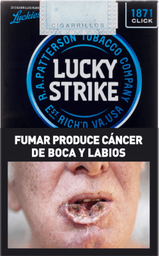 Cigarrillos Lucky Strike Clic Box 20