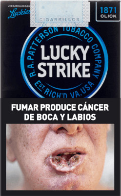 Cigarrillos Lucky Strike Clic Box 20