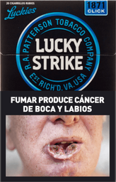 Cigarrillos Lucky Strike Clic 1871 20 U