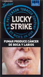 Cigarrillos Lucky Strike Clic X 10