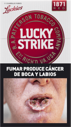 Cigarrillos Lucky Strike X 10