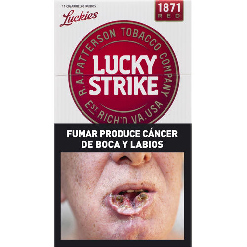 Cigarrillos Lucky Strike Red Box 12