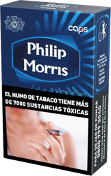 Cigarrillos Philip Morris Caps Box 20