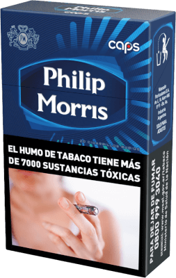Cigarrillos Philip Morris Caps 20 Box