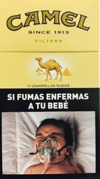 Cigarrillos Camel 10