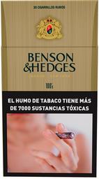 Cigarrillos Benson & Hedges 100's 20 U