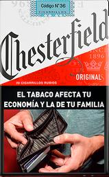 Cigarrillos ChesterfieldOriginal Común 20U